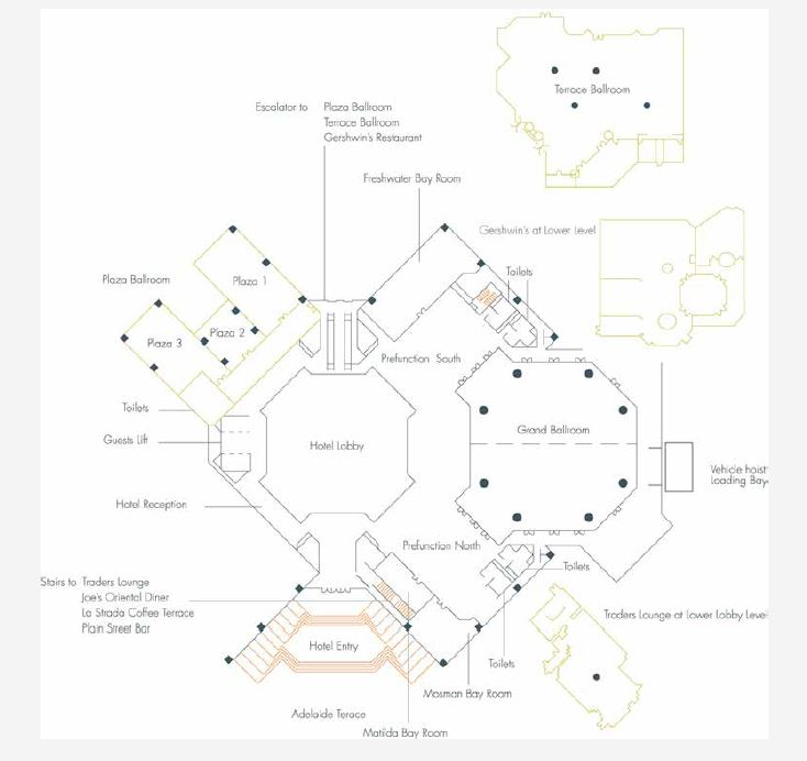 HyattRegencyPerth FloorPlans